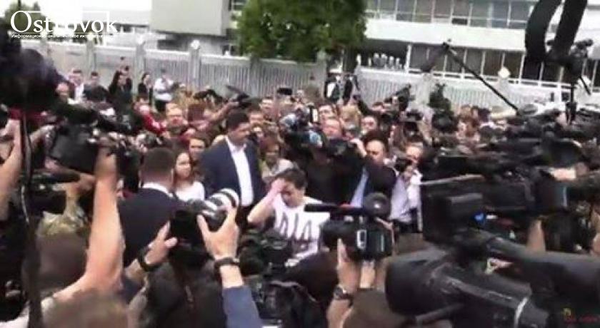 """Возвращение Савченко в Украину. Прямая трансляция канала """"112 Украина"""""""