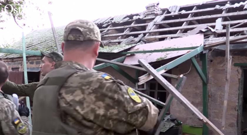 Видео с места гибели жителей Авдеевки 13 мая