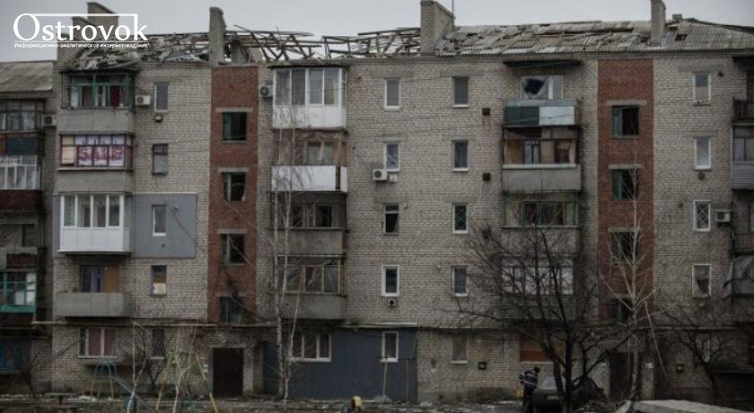 Норвежцы помогают восстанавливать жилье на Луганщине