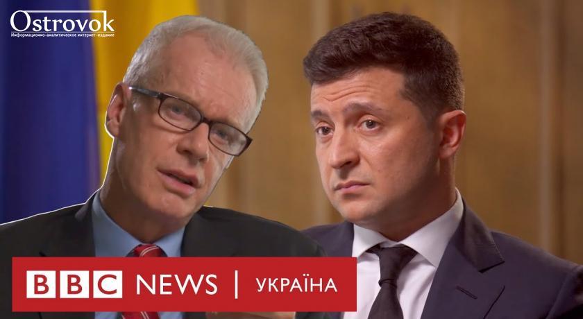 Інтерв'ю Зеленського ВВС про реформи та закінчення війни на Донбасі (ВІДЕО)